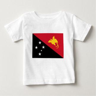 Niedrige Kosten! Papua-Neu-Guinea Flagge Baby T-shirt