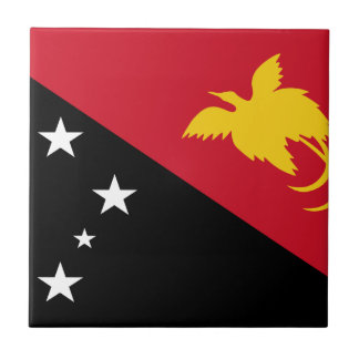 Niedrige Kosten! Papua-Neu-Guinea Flagge Keramikfliese