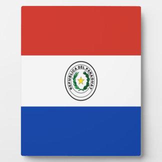 Niedrige Kosten! Paraguay-Flagge Fotoplatte