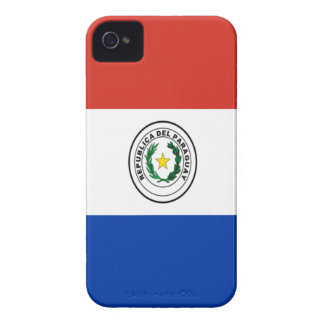 Niedrige Kosten! Paraguay-Flagge iPhone 4 Case-Mate Hüllen