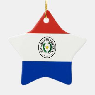 Niedrige Kosten! Paraguay-Flagge Keramik Ornament