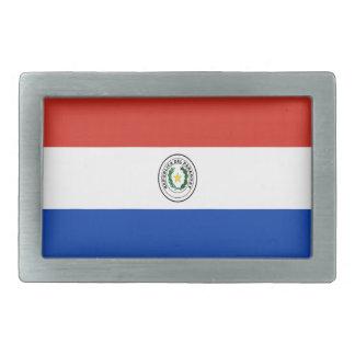 Niedrige Kosten! Paraguay-Flagge Rechteckige Gürtelschnallen