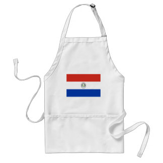 Niedrige Kosten! Paraguay-Flagge Schürze