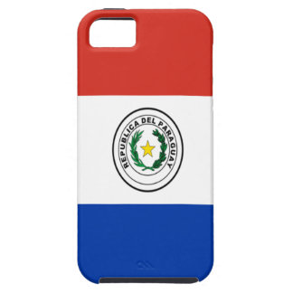 Niedrige Kosten! Paraguay-Flagge Tough iPhone 5 Hülle