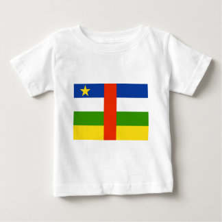 Niedrige Kosten! Republik- Zentralafrikaflagge Baby T-shirt