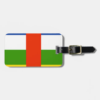 Niedrige Kosten! Republik- Zentralafrikaflagge Kofferanhänger