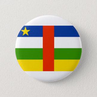Niedrige Kosten! Republik- Zentralafrikaflagge Runder Button 5,7 Cm