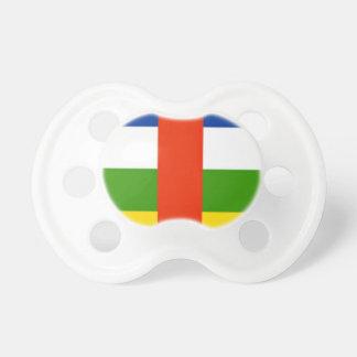 Niedrige Kosten! Republik- Zentralafrikaflagge Schnuller