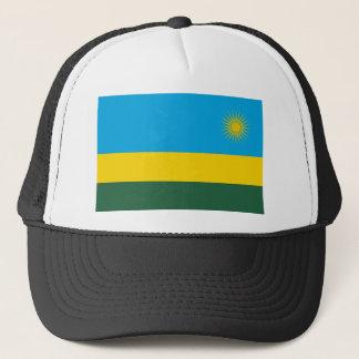Niedrige Kosten! Ruanda-Flagge Truckerkappe