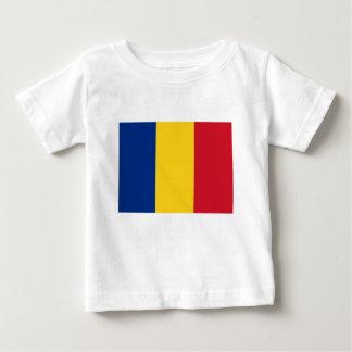 Niedrige Kosten! Rumänien-Flagge Baby T-shirt