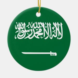 Niedrige Kosten! Saudi-Arabien Flagge Keramik Ornament