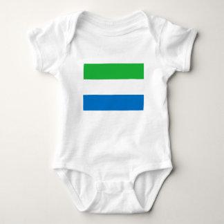 Niedrige Kosten! Sierra Leone-Flagge Baby Strampler
