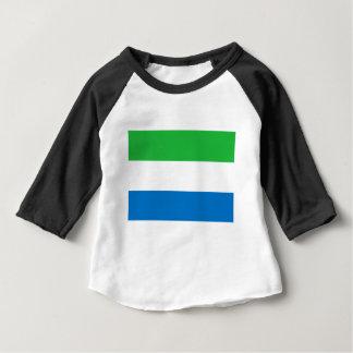 Niedrige Kosten! Sierra Leone-Flagge Baby T-shirt