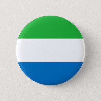 Niedrige Kosten! Sierra Leone-Flagge Runder Button 5,1 Cm