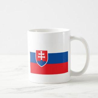 Niedrige Kosten! Slowakei-Flagge Kaffeetasse