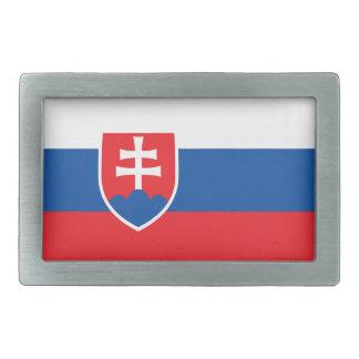 Niedrige Kosten! Slowakei-Flagge Rechteckige Gürtelschnalle