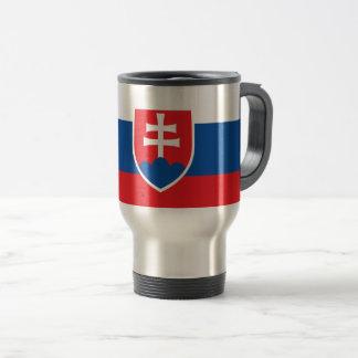 Niedrige Kosten! Slowakei-Flagge Reisebecher