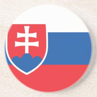 Niedrige Kosten! Slowakei-Flagge Untersetzer