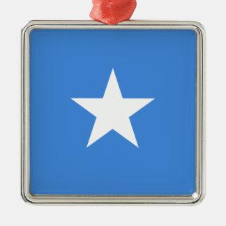 Niedrige Kosten! Somalia-Flagge Silbernes Ornament