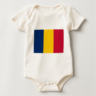Niedrige Kosten! Tschad-Flagge Baby Strampler