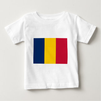 Niedrige Kosten! Tschad-Flagge Baby T-shirt