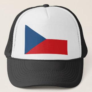 Niedrige Kosten! Tschechische Republik-Flagge Truckerkappe