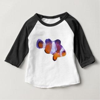 Niedrige Polyclown-Fische Baby T-shirt