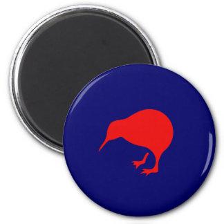 niedrige Sicht Neuseeland roundel Kiwi Runder Magnet 5,7 Cm