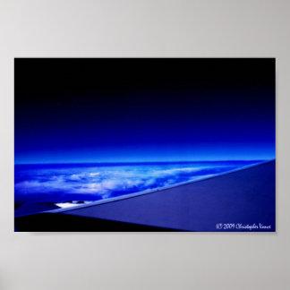 Niedrige Umlaufbahn der Erde Poster