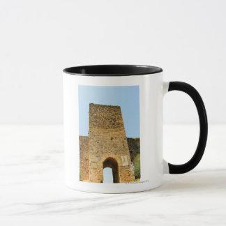 Niedrige Winkelsicht eines Forts, Porta Franca, Tasse