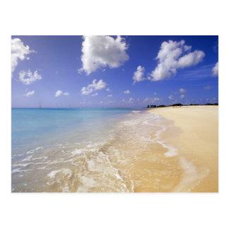 Niedriger Bucht-Strand, Barbuda, Antigua Postkarte