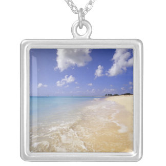Niedriger Bucht-Strand, Barbuda, Antigua Versilberte Kette
