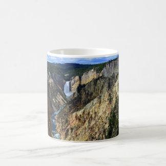 Niedrigere Yellowstone-Fälle, Yellowstone Kaffeetasse