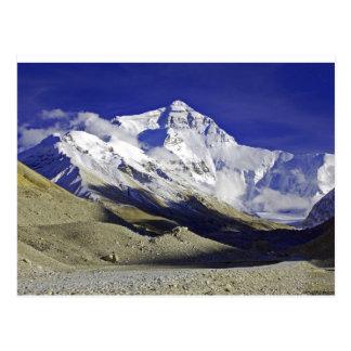 Niedriges Lager Tibet Everest Postkarten
