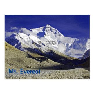 Niedriges Lager-Tibetanerseite des Mount Everest Postkarten