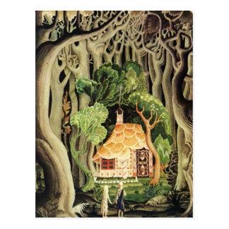 Nielsens Hansel und Gretel Postkarten