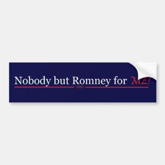 niemand aber romney für mich autoaufkleber