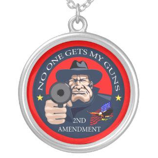 Niemand erhält meine Gewehre 1 Versilberte Kette