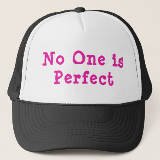 Niemand ist perfekter Fernlastfahrer-Hut Truckerkappe