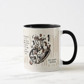 Niemand mag eine Ein-Obere 11 Unze-Wecker-Tasse Tasse