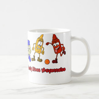 Niemand mag Majonäse Kaffeetasse