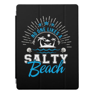 Niemand mag salzigen Strand-Strand-Liebhaber iPad Pro Cover