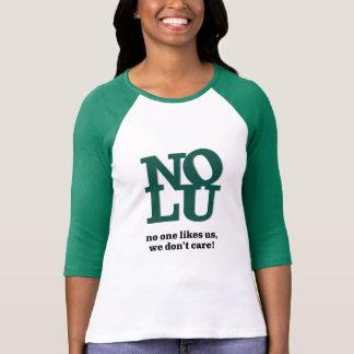 Niemand mag uns raglan-T-Stück   Frauen 3/4 die T-Shirt