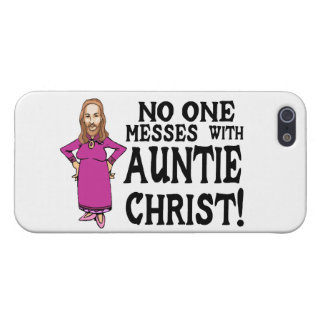Niemand verwirrt mit Tante Christus iPhone 5 Cover