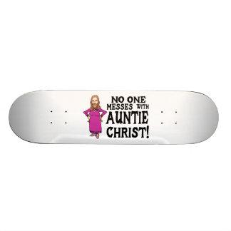 Niemand verwirrt mit Tante Christus Individuelle Skatedecks