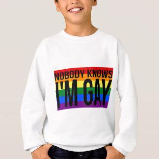 Niemand weiß, dass ich homosexuell bin sweatshirt