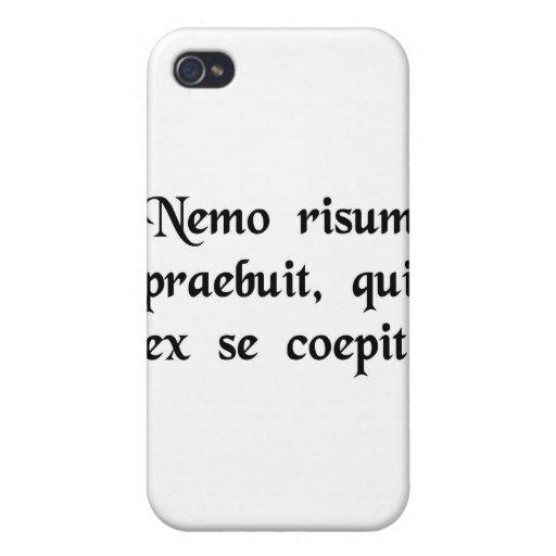 Niemand wird an gelacht, das an lacht hülle fürs iPhone 4