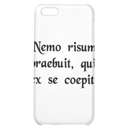 Niemand wird an gelacht, das an lacht hüllen für iPhone 5C