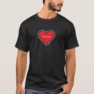 Nieredonee-grundlegender dunkler T - Shirt