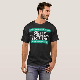 Nieren-Transplantations-Empfänger - dunkle Shirts